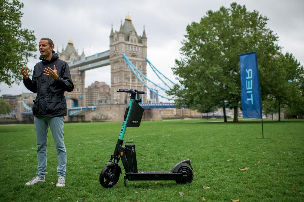 Tier launch in London