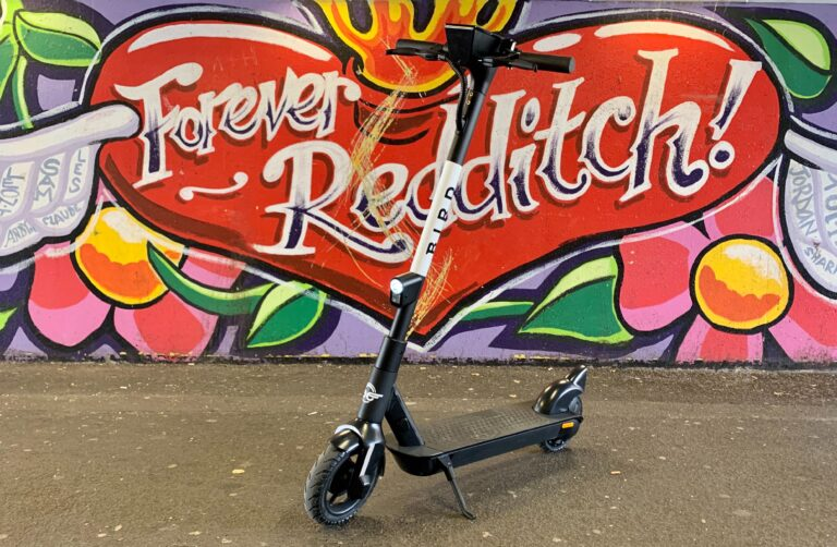 Bird scooter in Redditch courtesy Bird