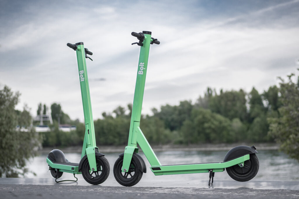 Bolt electric scooters
