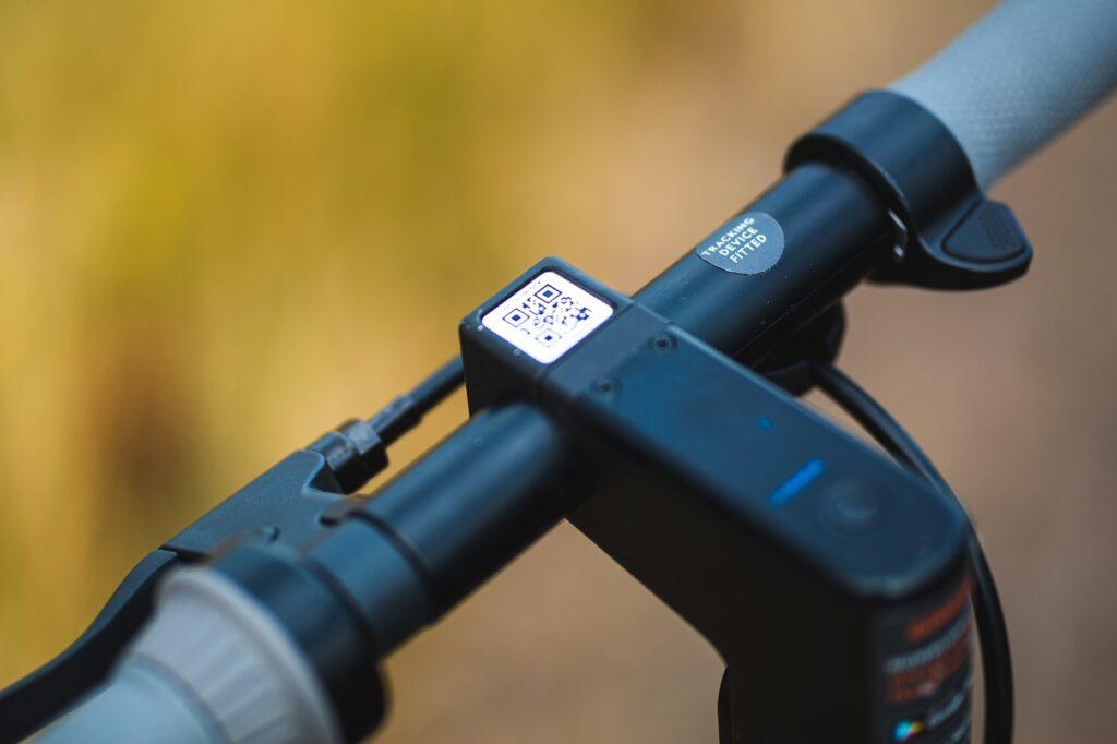 Ginger e-scooter handlebar