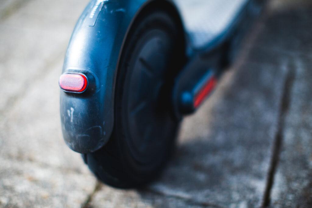 Ginger e-scooter brake light