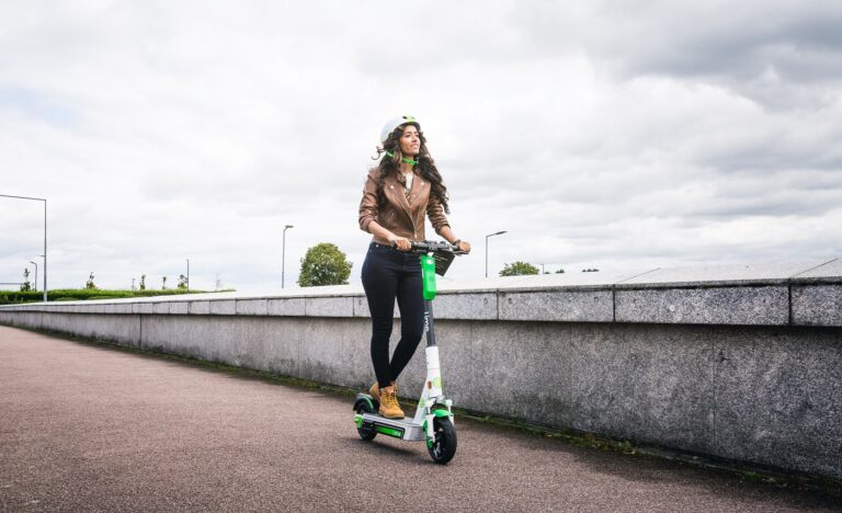 Lime e-scooter in Milton Keynes