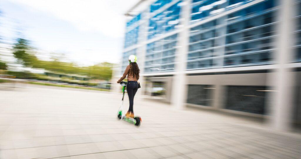 Lime e-scooter in Milton Keynes