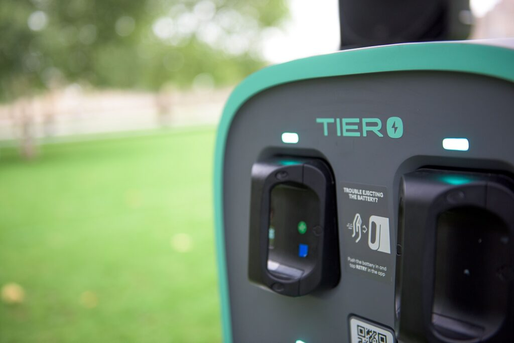 Tier Four e-scooter Powerbox station