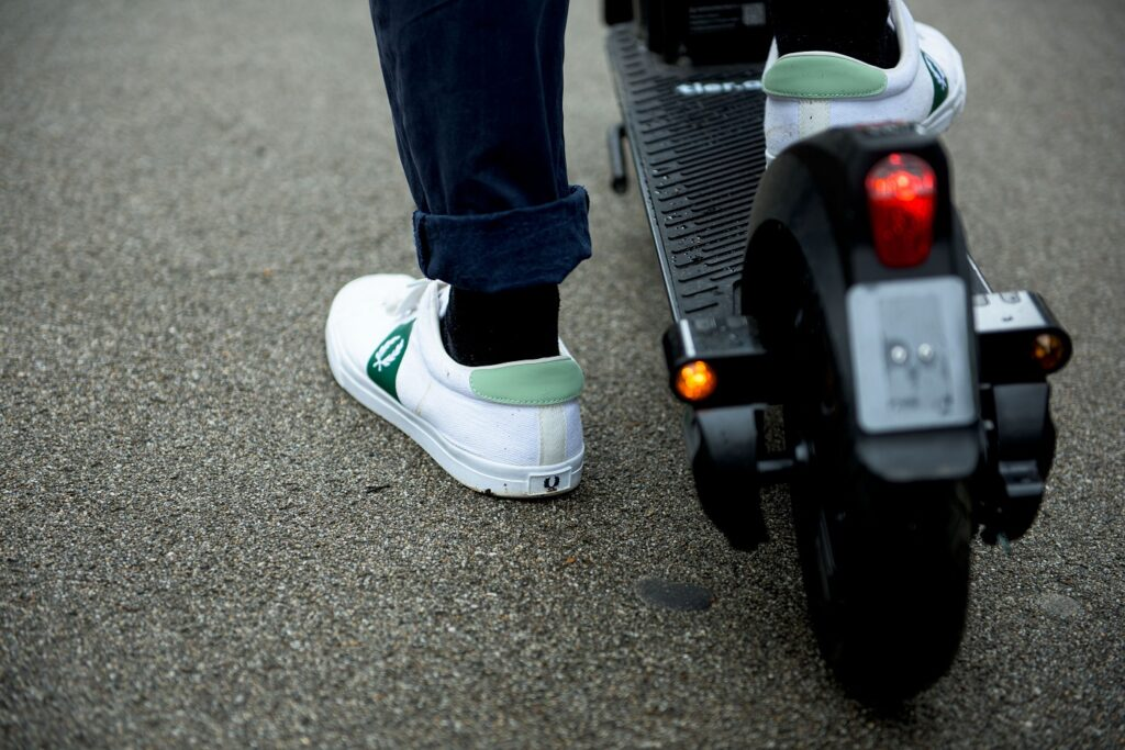 Tier Four e-scooter rear light
