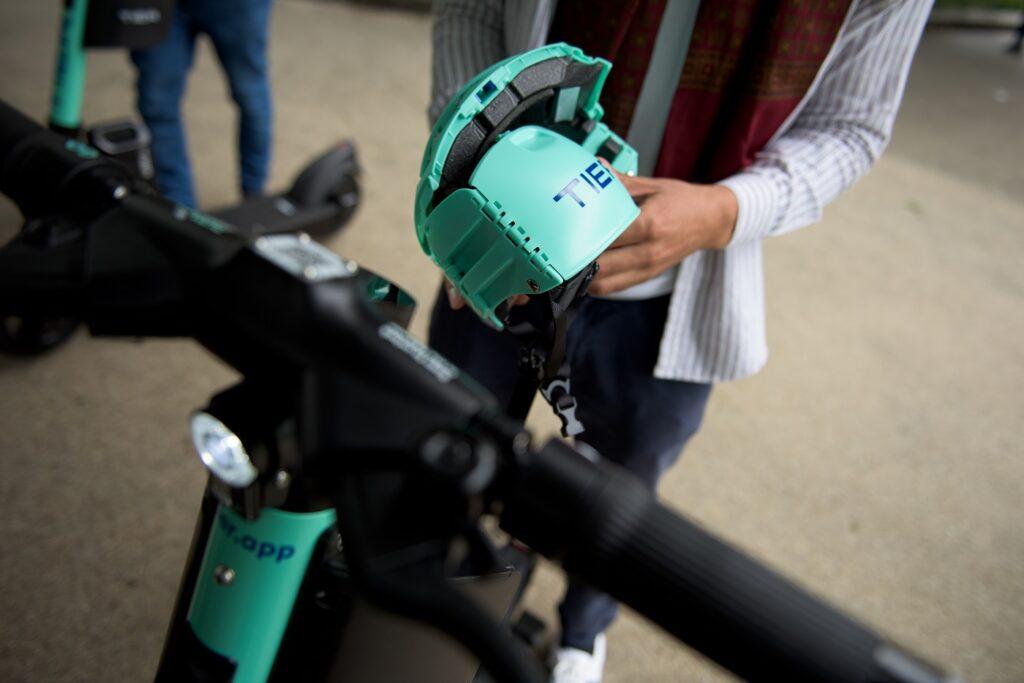 Tier Four e-scooter helmet