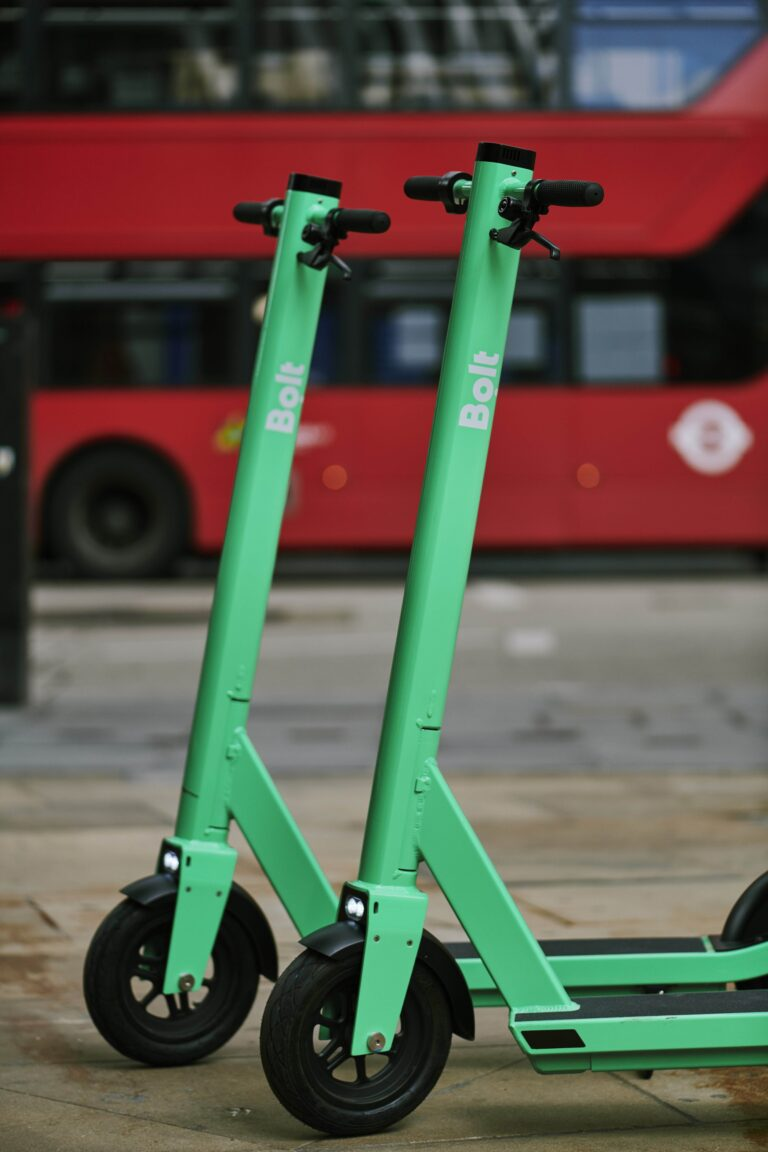 Bolt e-scooters in London