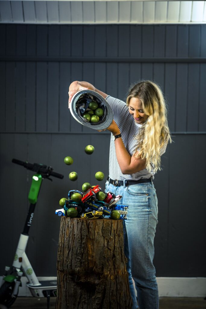 Florence Milner Lime studio shoot