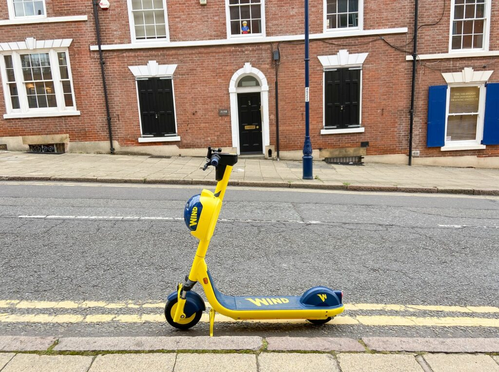 Wind e-scooter