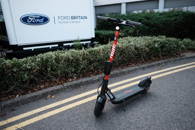 Spin e-scooter in Essex