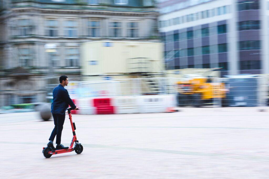 Voi e-scooters in Birmingham
