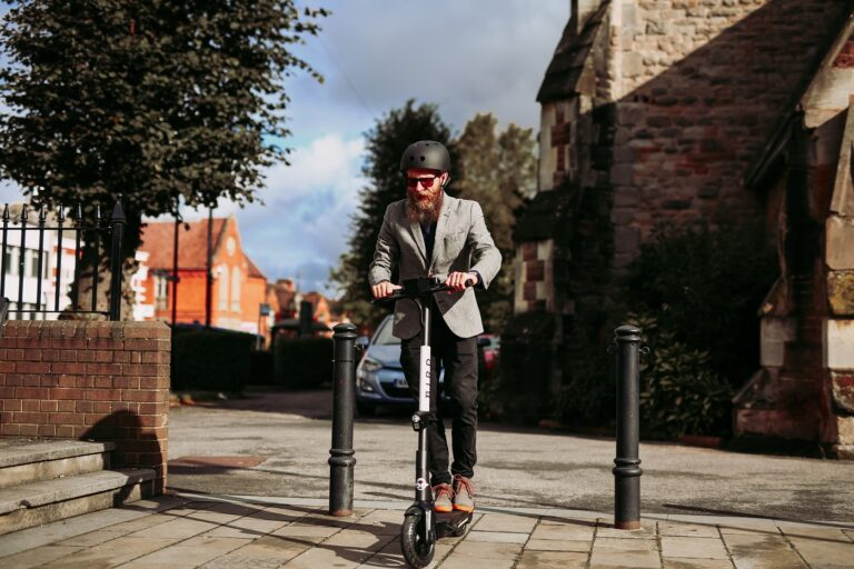 Bird electric scooter in Redditch