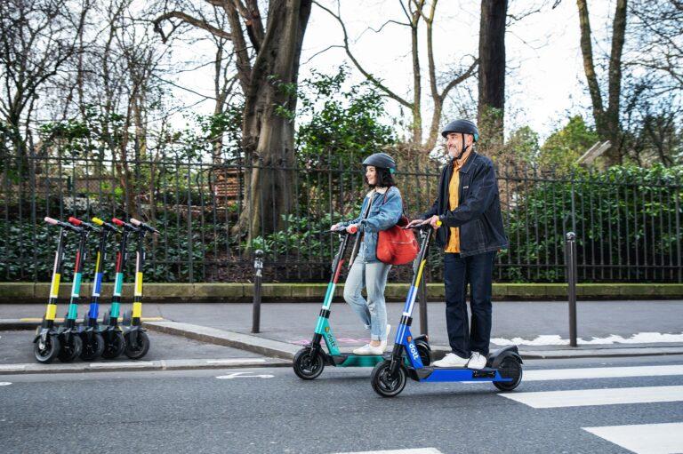 Dott e-scooter parking