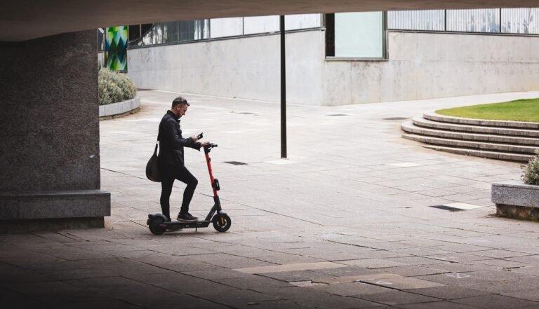 Spin e-scooter in Milton Keynes