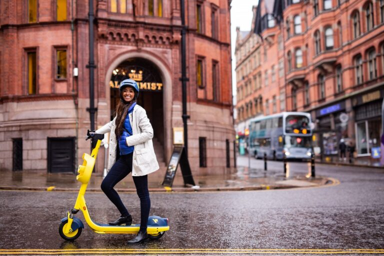 Wind e-scooter in Nottingham