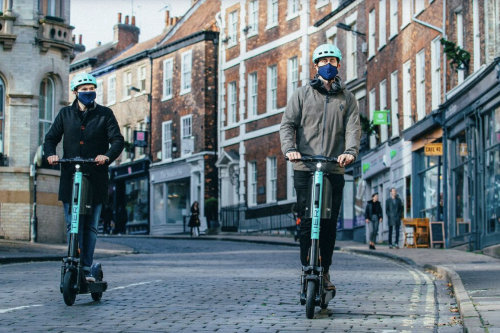 Tier scooters in York