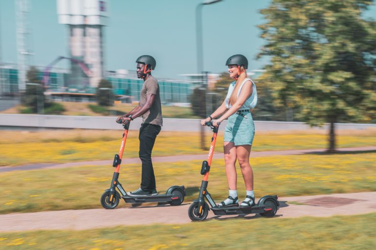 e-scooter Spin Milton Keynes micromobility