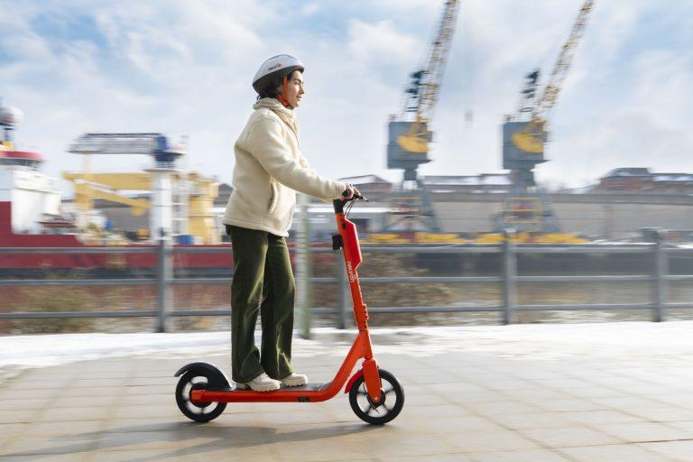 micromobility fia Neuron-e-scooter Sunderland