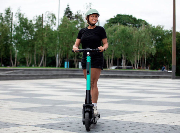 Average distances on UK shared e-scooters suggests positive modal shift