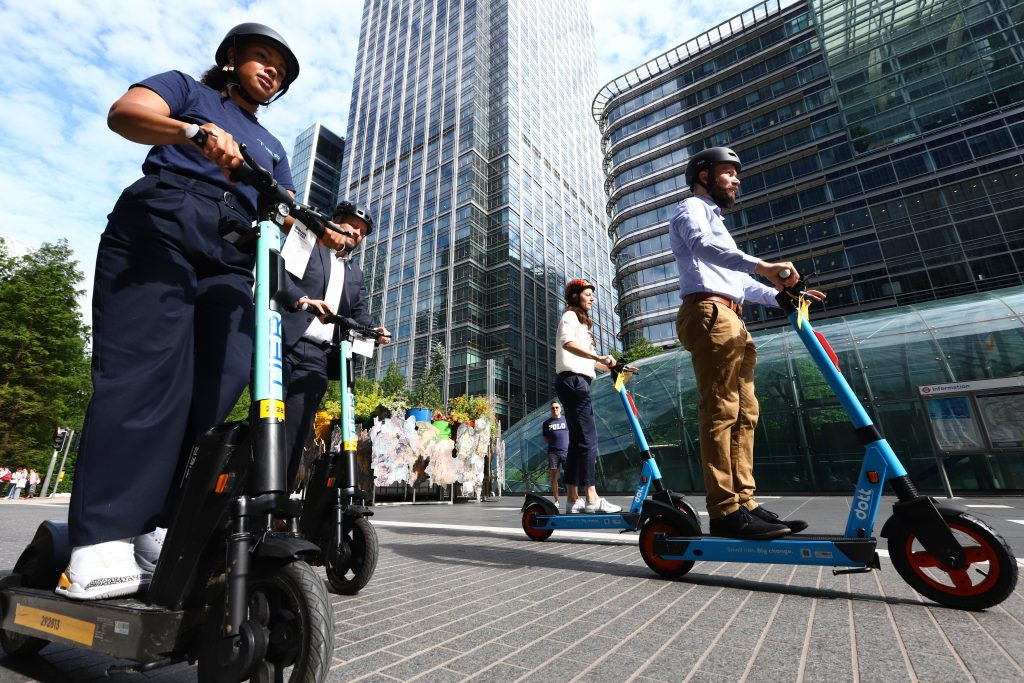 London e-scooter trial