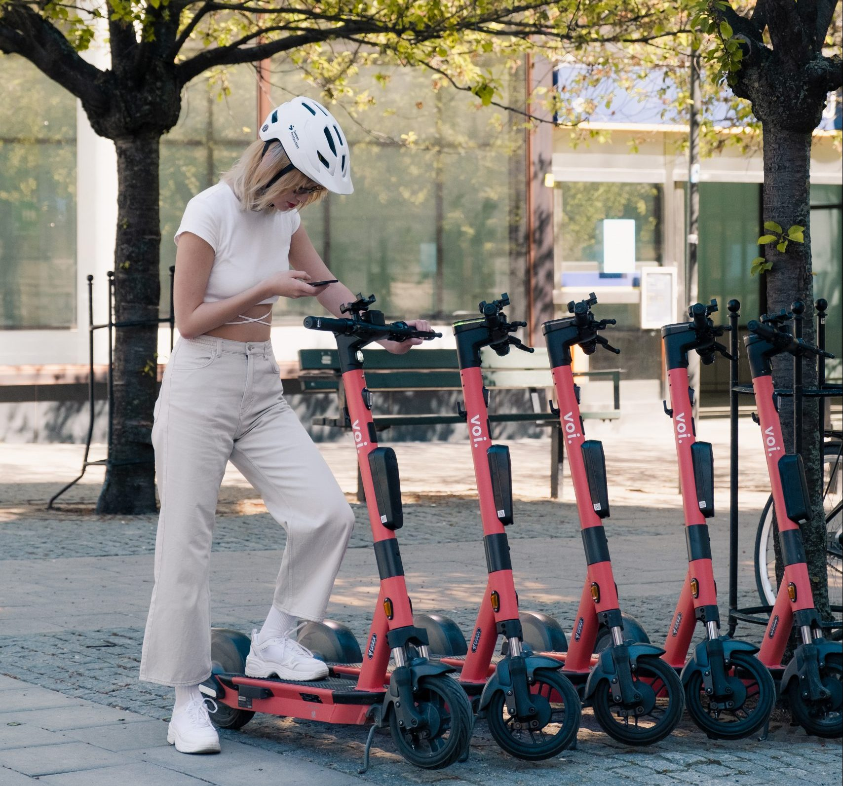 Tech that nudges riders into better parking behaviour is having results