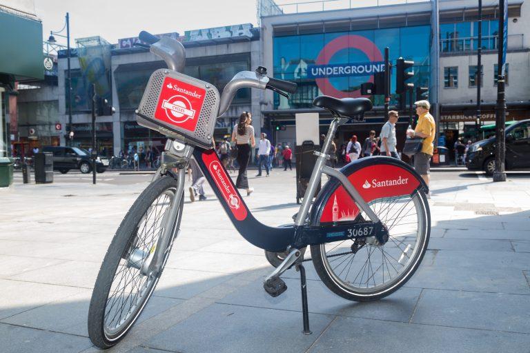 London Santander cycles