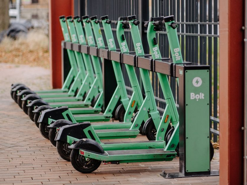 Bolt first operator to launch e-scooter charging docks in Europe