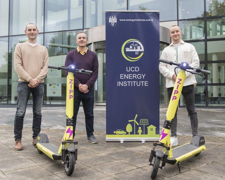 UCD Energy Institute partnership with Zipp Mobility